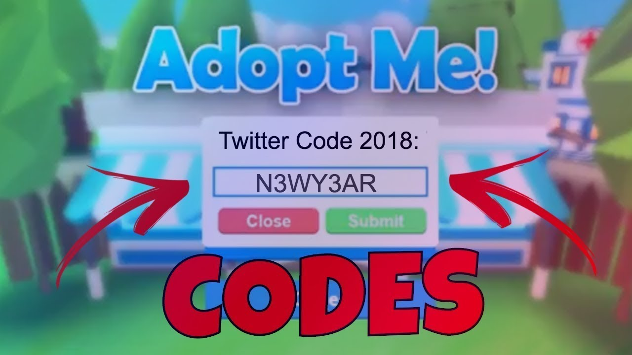 New Adopt Me Codes August 2019 New Update Roblox 2019 Youtube