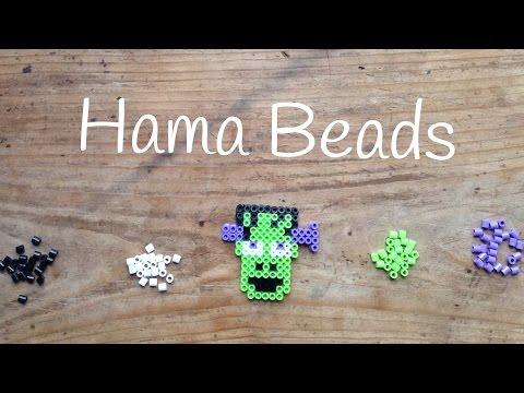 Frankenstein, una de las plantilla de hama beads más chulas
