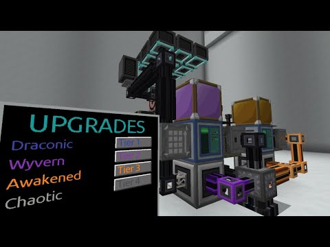 Fusion Crafting Automation – Draconic Evolution