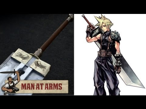 Master swordsmith creates Cloud's Buster sword from Final Fantasy 7
