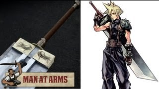 Cloud's Buster Sword (Final Fantasy VII) - MAN AT ARMS(Which weapon will be next? ▻ Subscribe! http://bit.ly/AWEsub Every other Monday, master swordsmith Tony Swatton forges your favorite weapons from video ..., 2013-05-20T17:02:07.000Z)