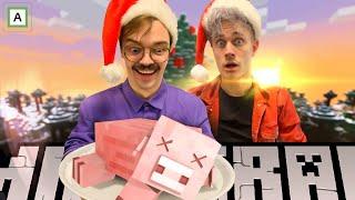 STREAM: Juleavslutning med Minecraft