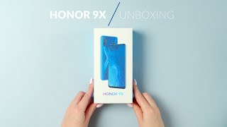 Honor 9X - unboxing - RTV EURO AGD