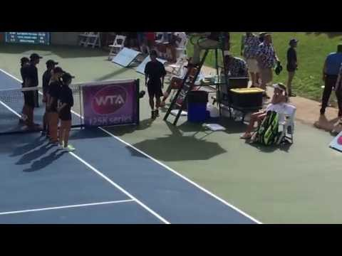 CiCi Bellis wins her first WTA title!