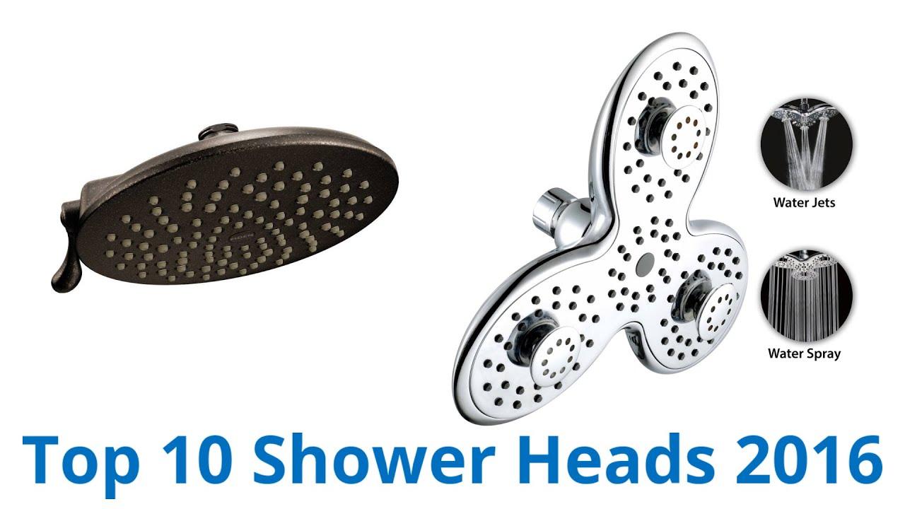 10 Best Shower Heads 2016 - YouTube