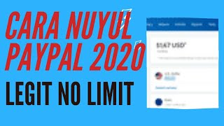 CARA NUYUL PAYPAL 2020 100%WORK [TERBARU]