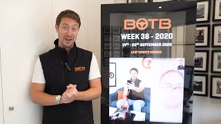 Results of BOTB Lifestyle Competition – Week 38 2020