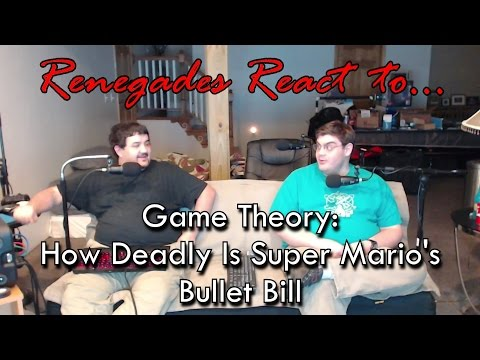 Renegades React to... Game Theory: How Deadly is Super Mario's Bullet Bill