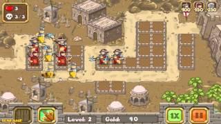 Crusader Defense: Level Pack 2 Gameplay Walkthrough
