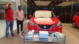 Taking Delivery of Maruti Suzuki Baleno Alpha|Top Model|Exterior and Interior 4K 60FPS