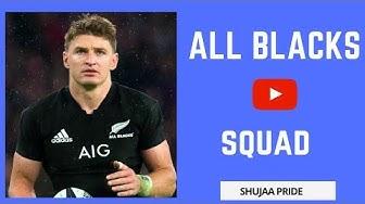 NEW ZEALAND ★ ALL BLACKS SQUAD ★ 2018