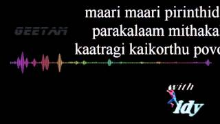 Manasellam mazhaiye karaoke for females(with spidy)