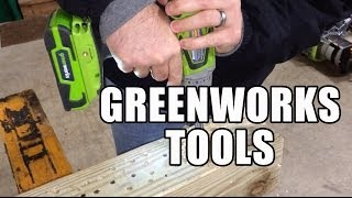 Greenworks 24V Drill and Impact Driver Review