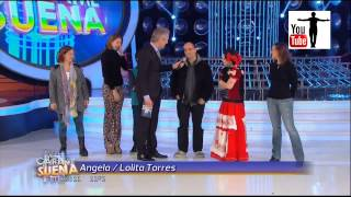 Angela Torres es Lolita Torres en tu cara me suena HD