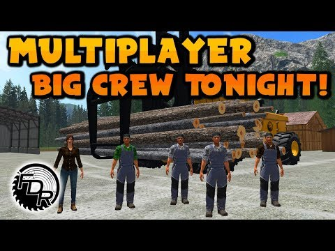 Meet The Crew | FS17 | Multiplayer Logging #43