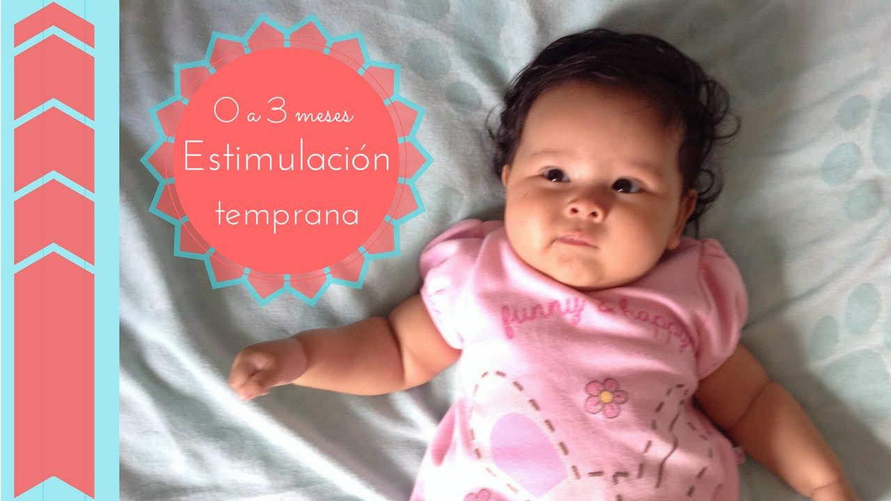 Estimulaci n temprana 0 a 3 meses doovi - Estimulacion bebe 3 meses ...