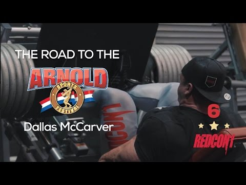 ROAD TO THE 2017 ARNOLD CLASSIC - DALLAS MCCARVER - EP.6 675LBS SQUAT