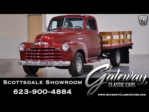 1949 Chevrolet 3800 Flatbed Gateway Classic Cars #474-SCT