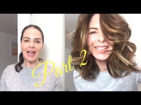 How I do My Curls - Blow Dry Tutorial PART #2   TRINNY