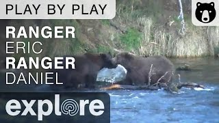 Rangers Eric and Dave - Katmai National Park - Brown Bear Play By Play