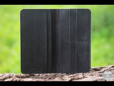 6ca3512c7292 Мужское кожаное портмоне (мини-клатч) ручной работы hand made VOILE  lw1-blk, купить в Украине