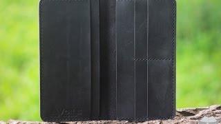 Мужское кожаное портмоне (мини-клатч) ручной работы hand made VOILE lw1-blk, купить в Украине(, 2016-07-06T16:09:12.000Z)