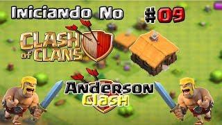 INICIANDO NO CLASH OF CLANS! #9 UPANDO O DRAGÃO PARA O NÍVEL 2