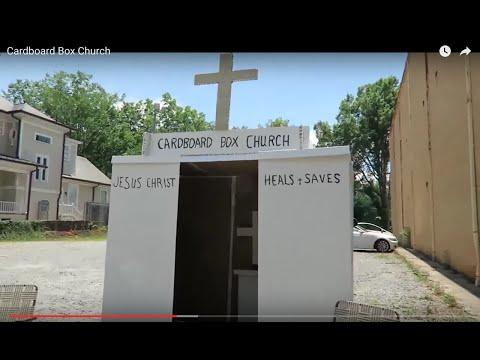 Cardboard Box Church