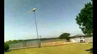 Windy Port Elizabeth - at airport