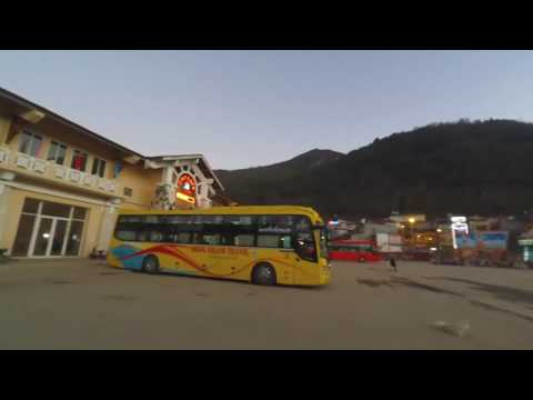 Vietnam to Laos on overnight sleeper bus (Sapa-Dien Bien Phu)