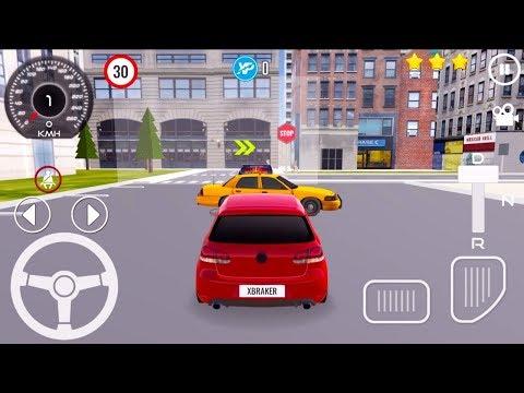 АВТОШКОЛА ШКОЛА ВОЖДЕНИЯ АВТОМОБИЛЕМ ИГРА НА ТЕЛЕФОНЫ АНДРОИД CAR DRIVING SCHOOL 3D