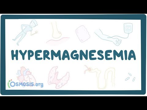Hypermagnesemia - Causes, Symptoms, Diagnosis, Treatment, Pathology