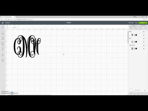 How To Use Vine Monogram SVG's Tutorial