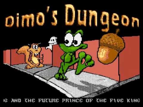 Atari 8Bit: Dimo's Quest: The Dungeon - Sneak Preview