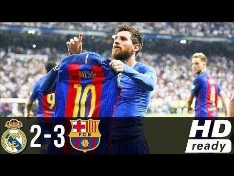 The greatest Elclasico- Real Madrid vs Barcelona final