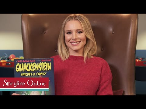 Quackenstein Hatches a Family read by Kristen Bell