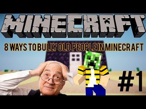 Thumbnail: 8 Ways To Bully Old People in Minecraft