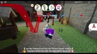 Surviving the Tagger Apocalypse... or not | Roblox