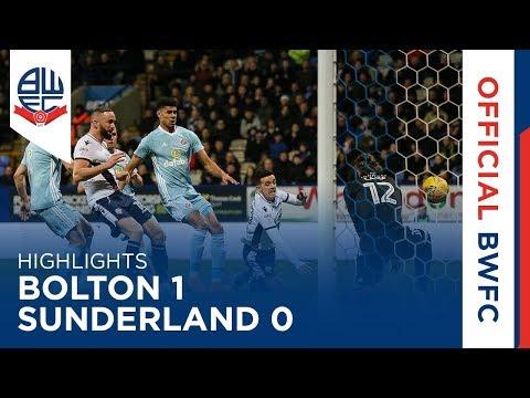 HIGHLIGHTS | Bolton 1-0 Sunderland