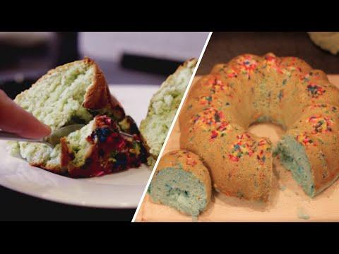 3 Ingredient Ice Cream Birthday Cake- Buzzfeed Test #27