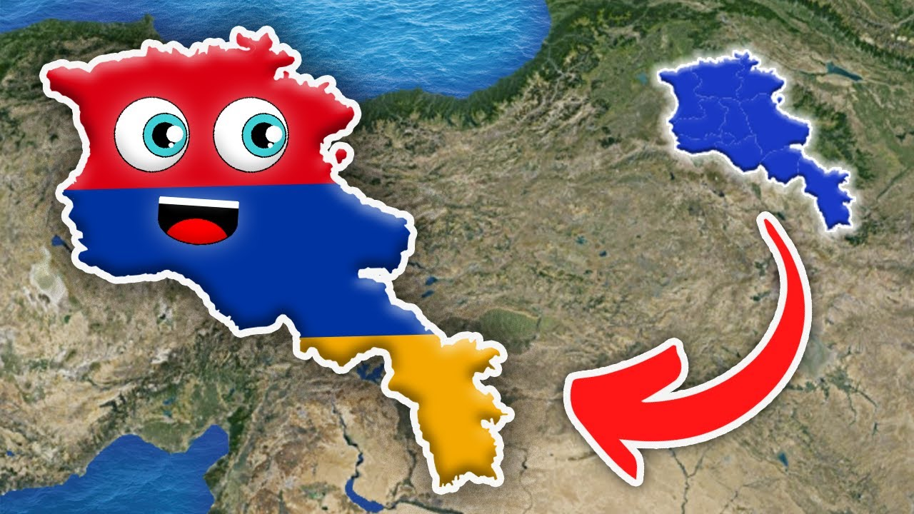 Countries of the World Armenia Geography