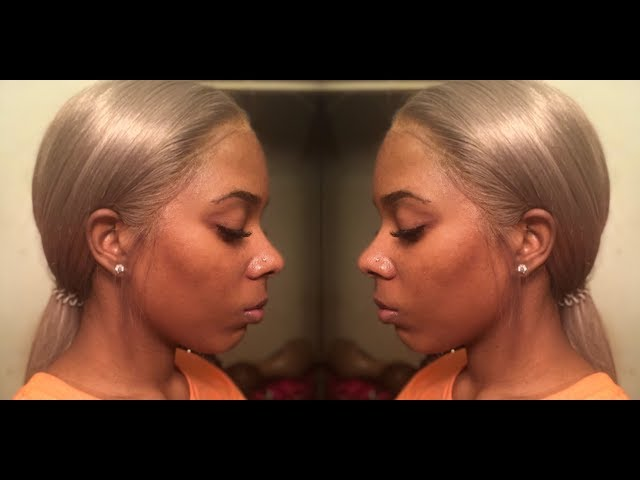 How I Install My Wig With Bold Hold Extreme Cream On Choc Hair 613 Virgin Hair Weave/ Wig