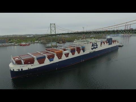 ATLANTIC SKY Maiden Voyage into Halifax, NS - DJI Phantom 3 Aerial Video (May 23, 2017)