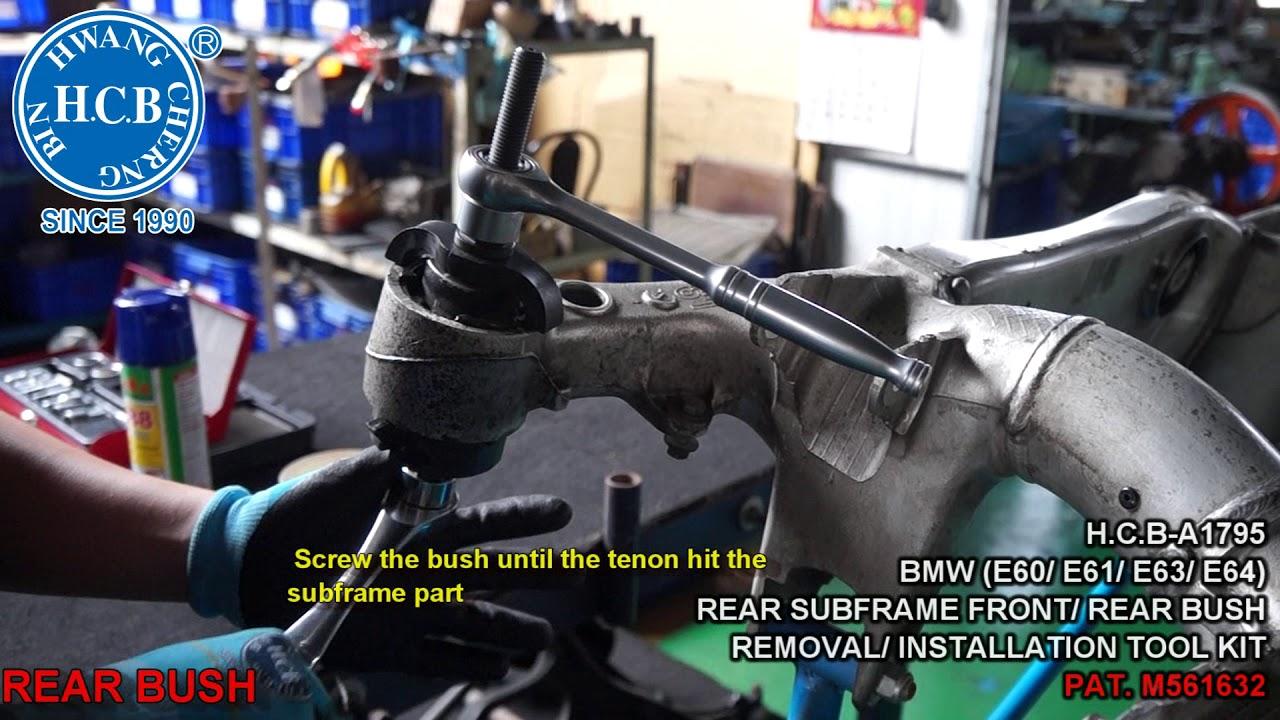 HCB Auto Tools - H C B-A1795 BMW (E60/ E61/ E63/ E64) REAR SUBFRAME