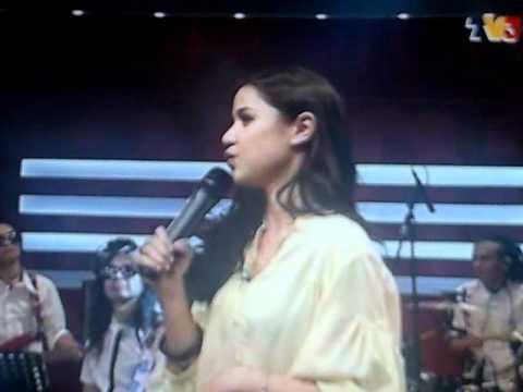 LISA SURIHANI nyanyi lagu Baby (Justin Bieber) @ Jangan Tidur Lagi