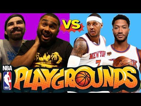 MCG's VS NY Knicks (NBA Playgrounds NIntendo Switch Gameplay #2)