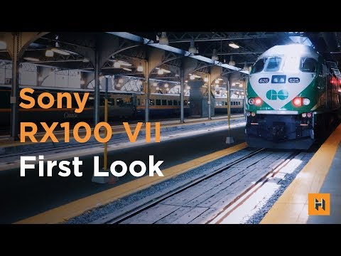SONY RX100 VII First Look