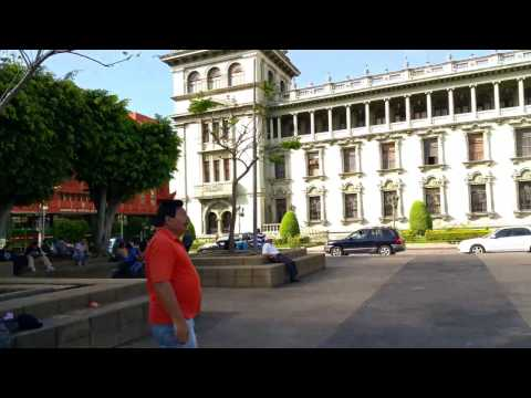 Guatemala City 4K Video - Samsung Note Edge - Palacio Nacional - Oct 2015