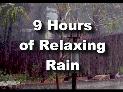 Rain Sounds : 9 hour long Raining \