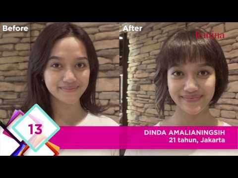 Makeover Finalis Wajah Femina 2016 - Part 1
